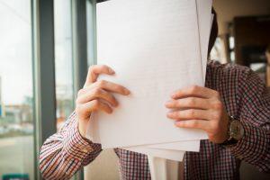Documentos enviados de acordo com cada necessidade