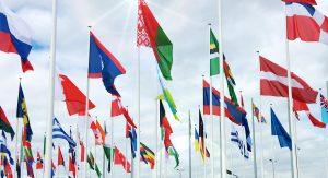 Grande número de Países para ser mais confiável do que fazer envios internacionais pelos Correios